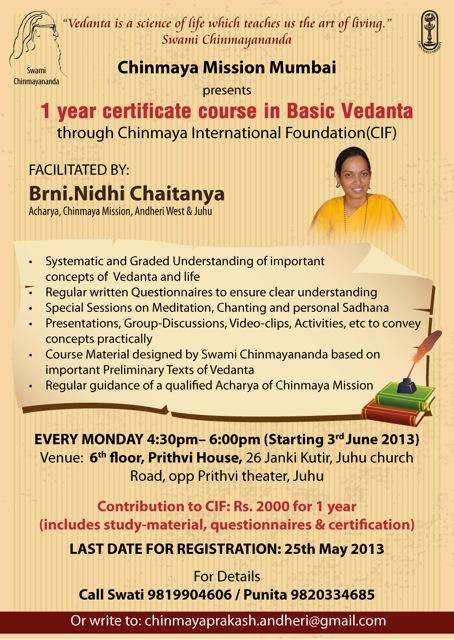 Vedanta-Course