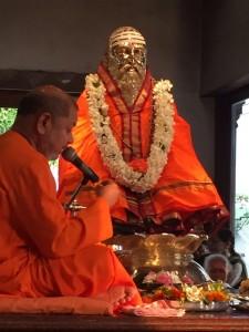 Guru Paduka Pooja at Sidhbari