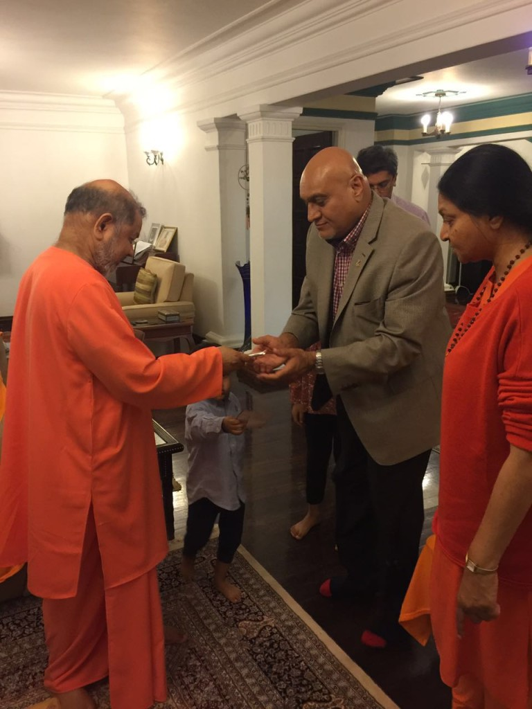 Welcome of Pujya Guruji to Mul