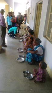 old age home lunch