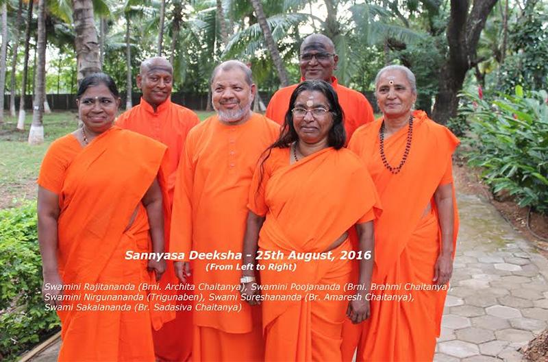 Chinmaya Mission Brahmachari and Brahmacharinis