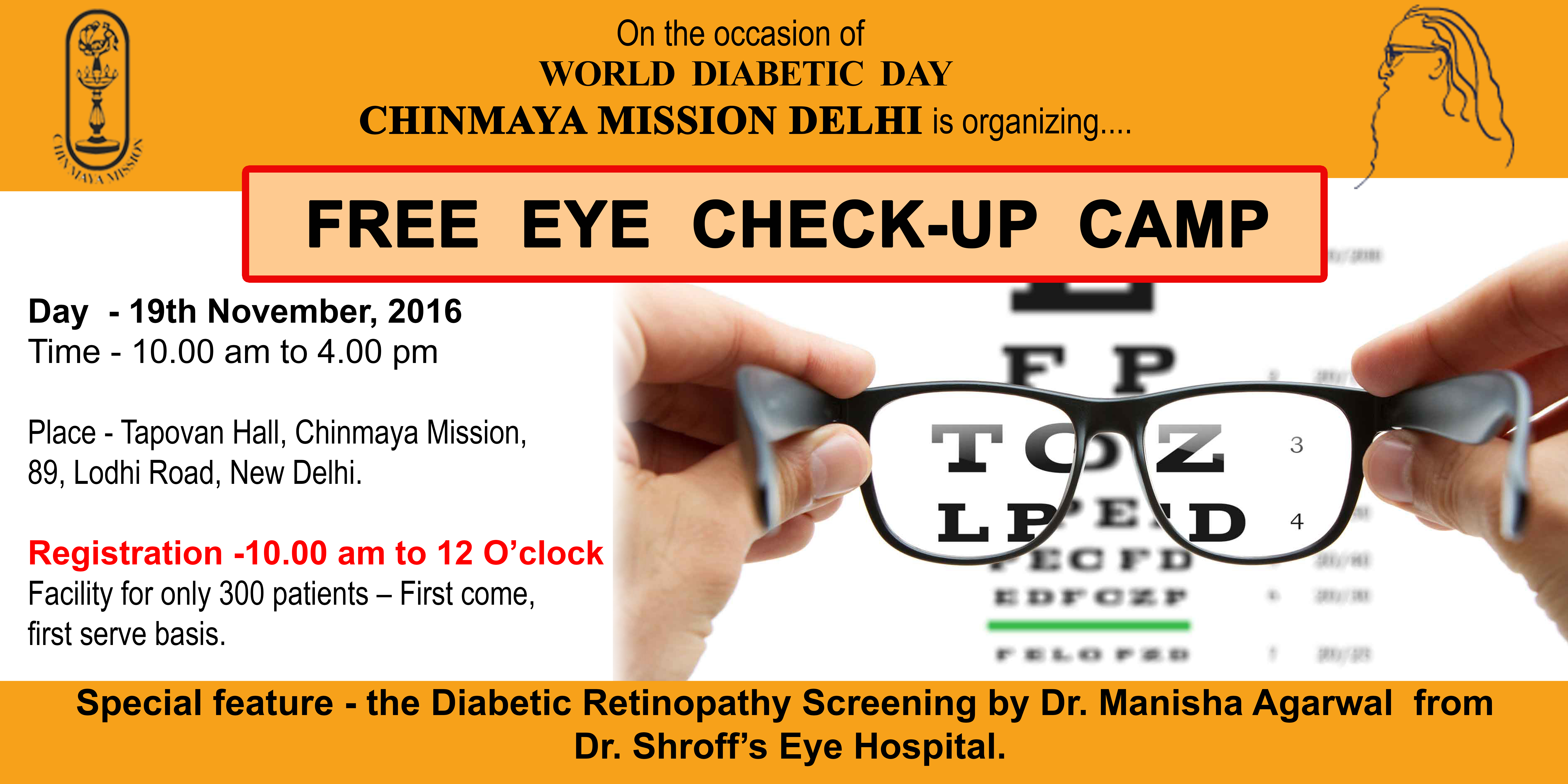 73b99c68aed Free Eye Check-Up Camp