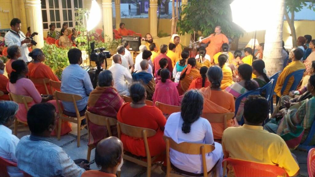 Guruji at Anantpur