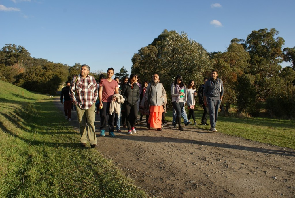 mukhya Swamis Melbourne trip