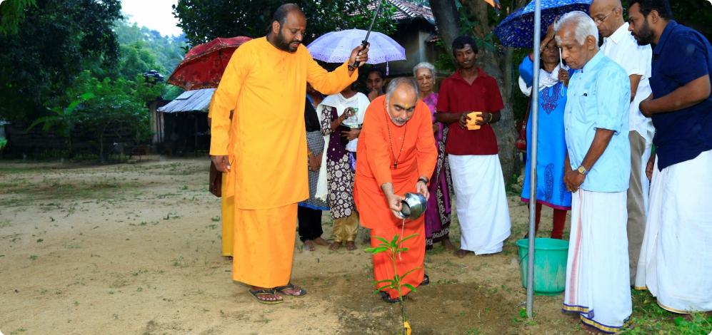 Mukhya Swamiji's Visit to CM Jaffna, Sri Lanka
