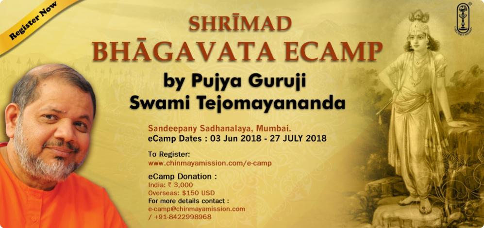 SHRÉMAD Bhagvata ecamp