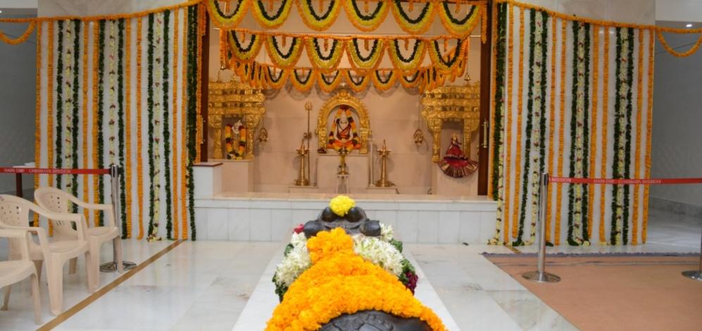 Jagadeeshwara Mandir Suvarna Mahotsava at Sandeepany, Powai.