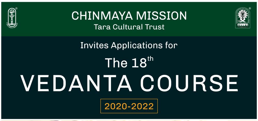 vedanta course-2020