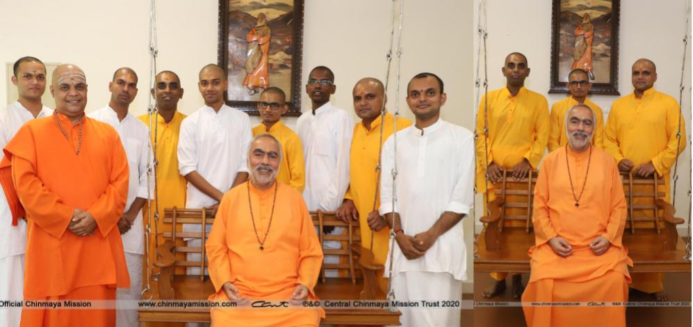 Deeksha Ceremony Malayalam Vedanta Course