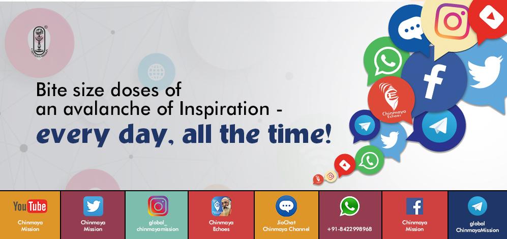 Chinmaya Mission on Social Media